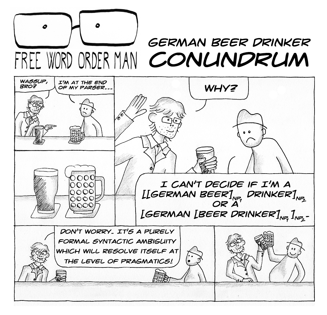 #1 German Beer Drinker Conundrum